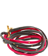 gorjana - Graham Leather Triple Strand Wrap