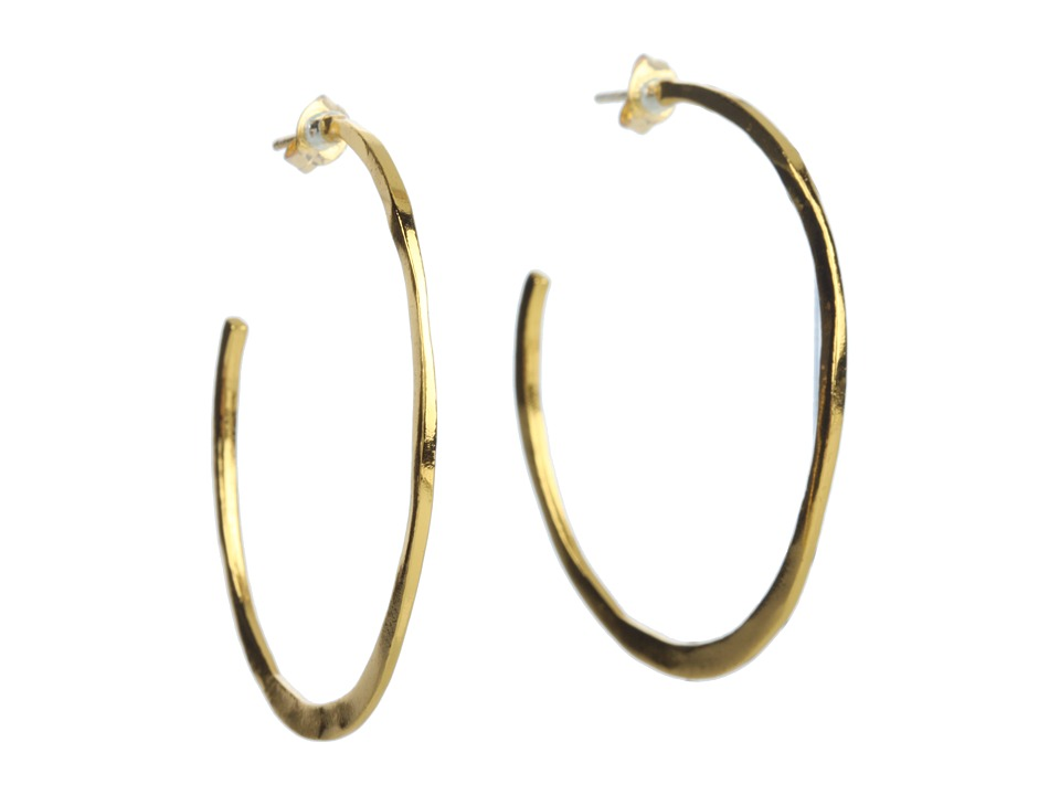 gorjana Arc Large Hoops Gold Earring