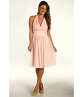 Donna Morgan - Vivian Chiffon Halter Combo Waist Dress