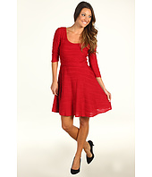 Donna Morgan - Zoey Textured Fit And Flare Dress