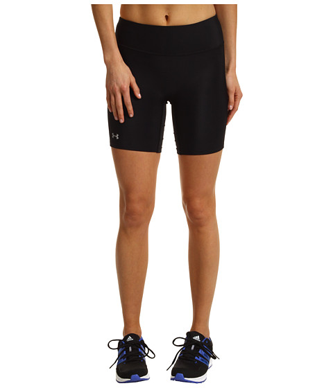 Awesome Womens UA ColdGear Compression Leggings Midnight Navy Zoomed