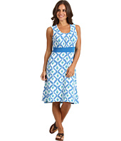 ExOfficio - Go-To® S/L Diamond Print Dress