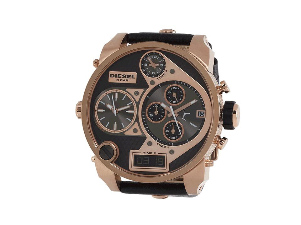 Diesel DZ7261 Rose Gold/Black Watches