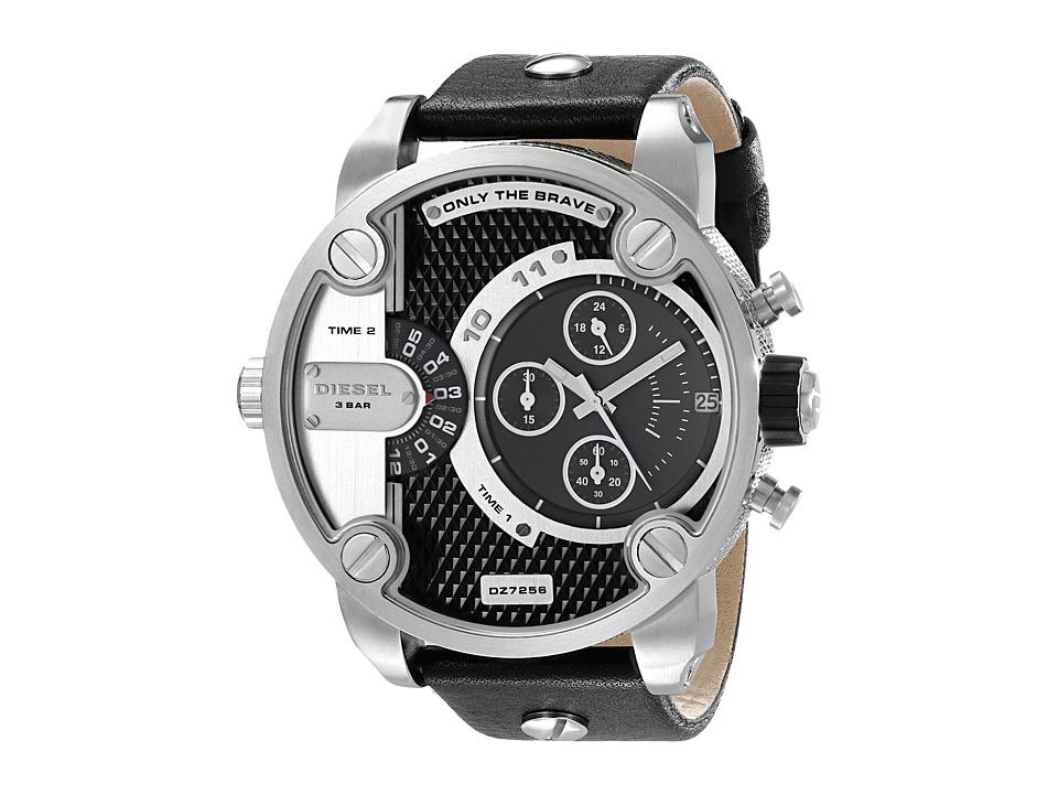 Diesel - Little Daddy DZ7256 (Silver/Black) Analog Watches