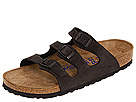 Birkenstock  Florida Soft Footbed  Nubuck Black Nubuck  Footwear