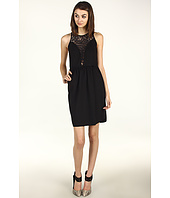 Rebecca Taylor - Ponte and Lace Dress