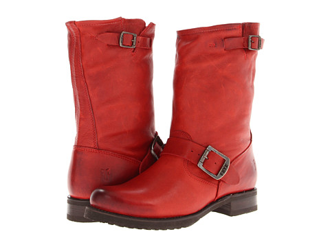 Frye Veronica Shortie - Burnt Red Soft Vintage Leather
