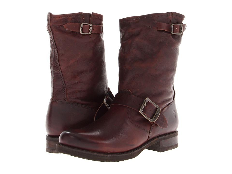 Frye Veronica Shortie (Dark Brown Soft Vintage Leather) Western Boots