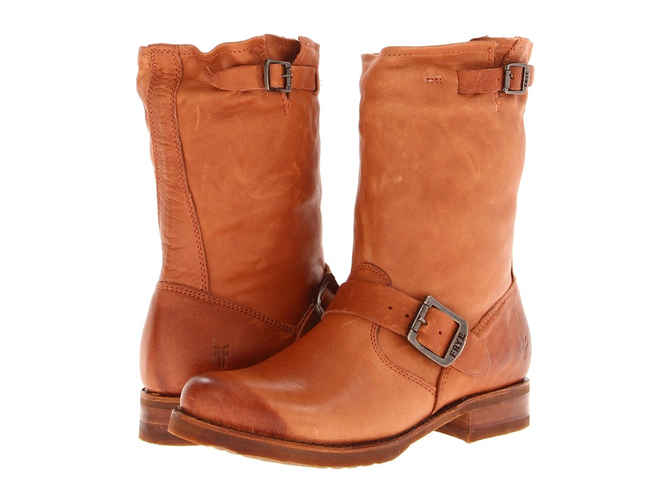 Frye Veronica Shortie (Whiskey Soft Vintage Leather) Cowboy Boots