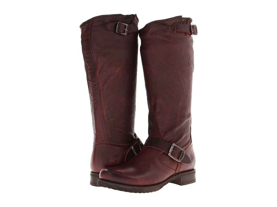 Frye Veronica Slouch (Dark Brown Soft Vintage Leather) Women's Pull-on Boots