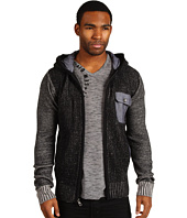 Marc Ecko Cut & Sew - Marled Zip Sweater Hoodie