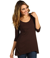 Miraclebody Jeans - 3/4 Sleeve Trapeze Top w/ Body-Shaping Inner Shell
