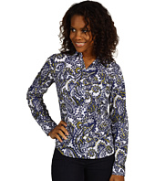 MICHAEL Michael Kors - Hampshire Paisley Button Down Patch Top