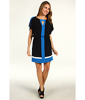 Laundry by Shelli Segal - Color Block Matte Jersey Dress