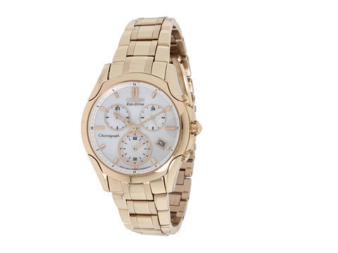 Citizen Watches FB1153-59A Eco-Drive Rose Gold Tone Chronograph Watch