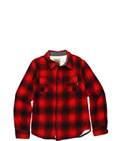 True Religion Kids - Boys' Flannel Plaid Shirt w/ Thermal Lining (Toddler/Little Kids/Big Kids)