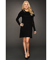 Kensie - Twisted Slub Sweater Dress
