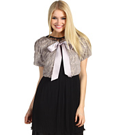 Jessica Simpson - Short Sleeve Shrug with Satin Ribbon Closure