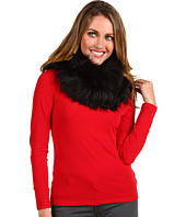 MICHAEL Michael Kors - Faux Long Hair Goat Neck Warmer