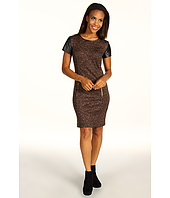 MICHAEL Michael Kors - Graphic Donegal Tweed Print S/S Dress