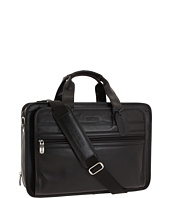 Kenneth Cole Reaction - Manhattan Leather - Expandable Top Zip Portfolio/Computer Case