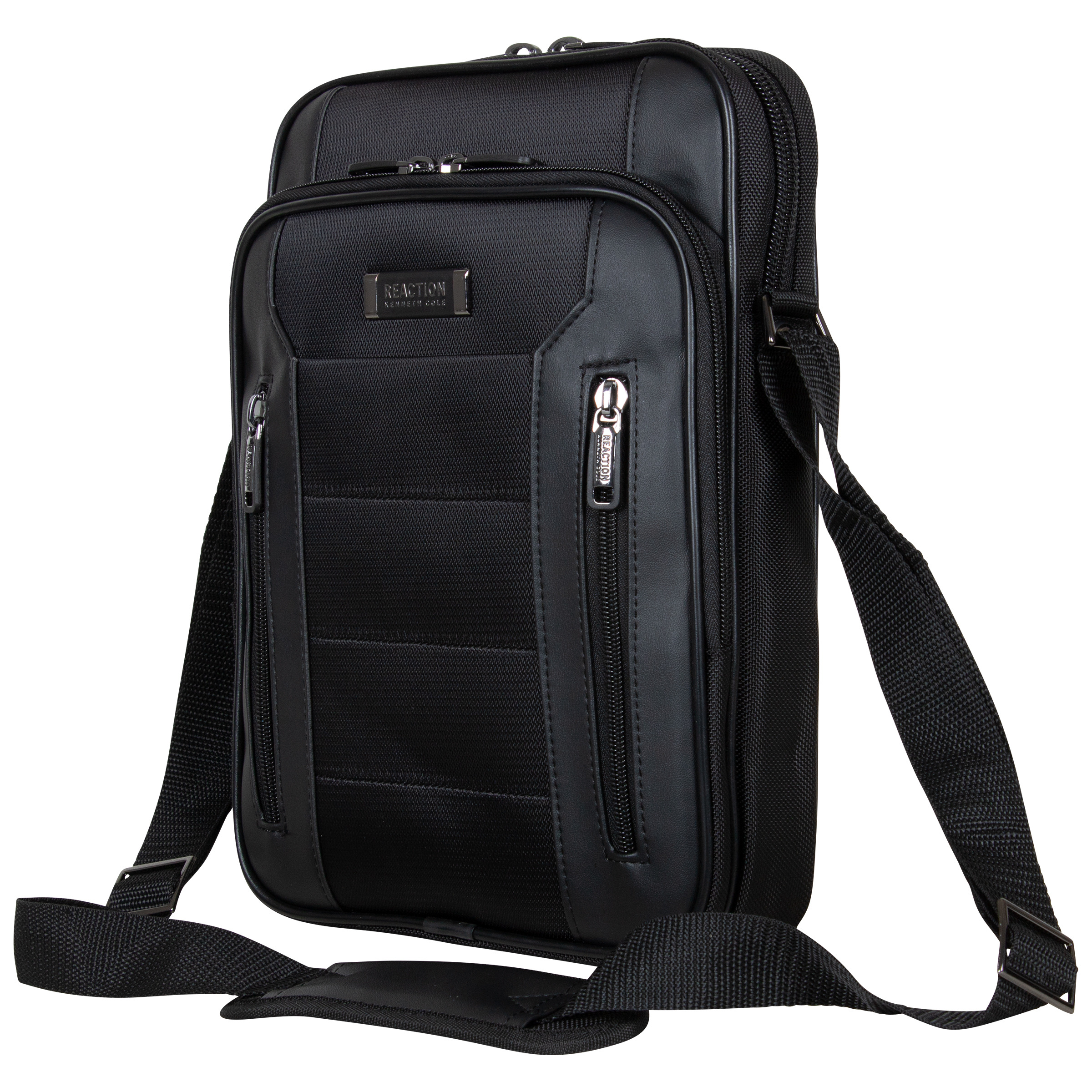 Kenneth Cole Reaction - Top Zip Day Bag/Tablet, Computer Case (Black) Computer Bags