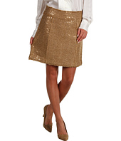 MICHAEL Michael Kors - Sequin Eyelash Boucle Fray Detail Mini Skirt