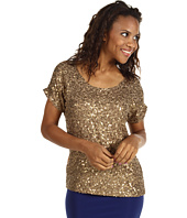 MICHAEL Michael Kors - Solid Viscose Sequin Dolman Top