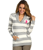 U.S. Polo Assn - Stripe Sweater with Cowl Neck