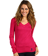 U.S. Polo Assn - Long Sleeve V-Neck