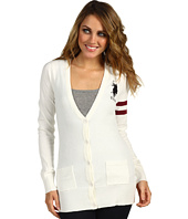 U.S. Polo Assn - Long Sleeve Varsity Cardigan