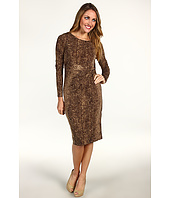 Anne Klein - Snake Print L/S Dress