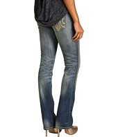 Mek Denim - Oaxaca Slim Bootcut Jean in Medium Blue Distress