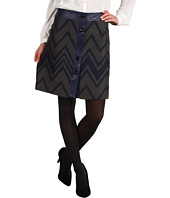Anne Klein - Zig Zag Tweed Skirt