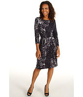 Anne Klein - Leopard Print Wrap Dress