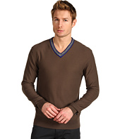 Versace Collection - Contrast V-Neck Sweater