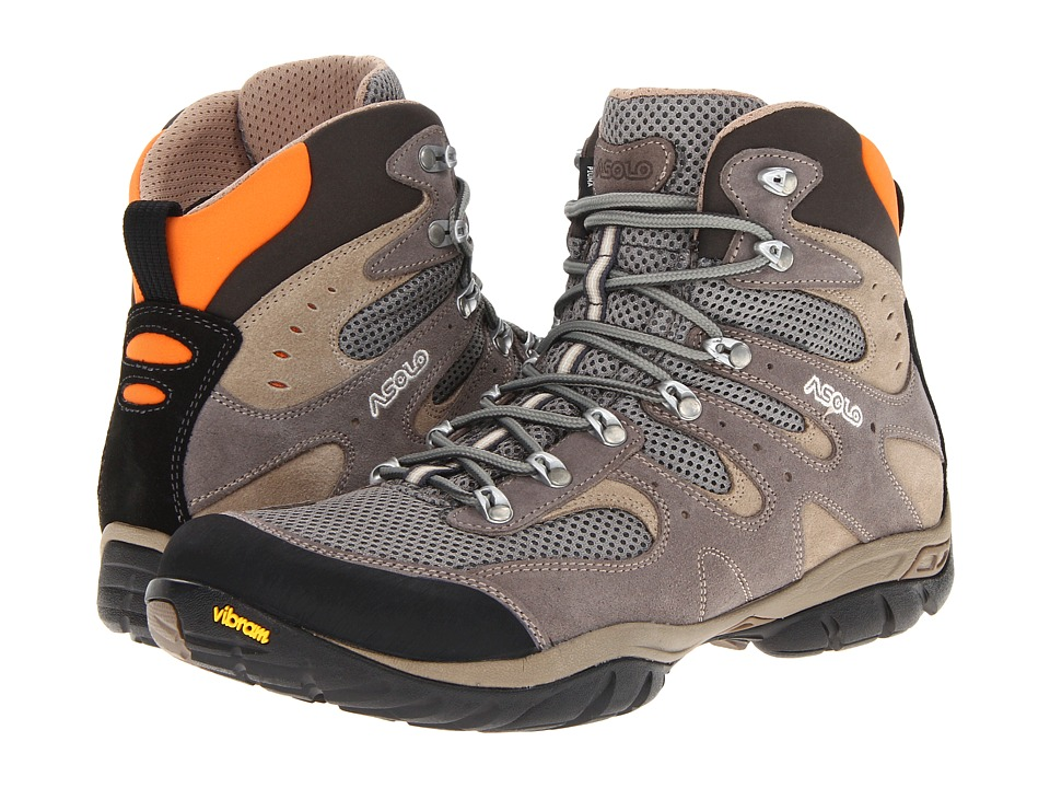 Asolo Piuma Cendre/Grey Mens Hiking Boots