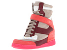 Hi-Top Wedge Sneakers