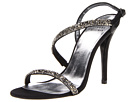 Stuart Weitzman Bridal & Evening Collection - Glimmer (Black Satin) - Footwear