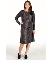 Anne Klein Plus - Plus Size Snake Print L/S Dress