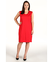 Anne Klein Plus - Plus Size Sleeveless Dress w/ Princess Seams
