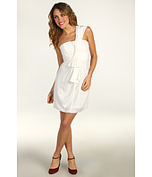 BCBGMAXAZRIA - Palais Ruffle Front Cocktail Dress