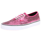 Vans - Authentic ((Glitter) Pink/Micro Dots) -