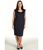 Anne Klein Plus - Plus Size Herringbone Dress