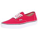 Vans - Authentic (Bright Rose/True White) -