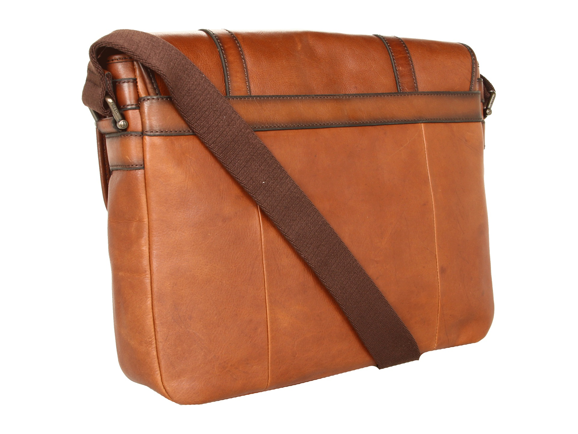 Luxury This Distressed Colombian Leather Messenger Bag Is A Great Gift For Your Husband That Will Keep  Or You Just Want To Get Him A Super Cool Timekeeping Friend With Benefits, This Fossil Q Wander Watc