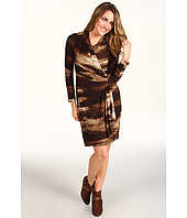 Karen Kane - Sequoia Print L/S Wrap Dress