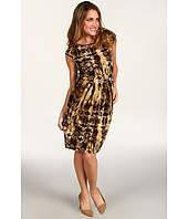Karen Kane - Sequoia Python Pleated Dress