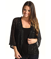 DKNYC - Open Front Sequin Shrug
