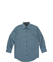 Ike Behar Kids - Reinaldo L/S Check Woven Shirt (Big Kids)